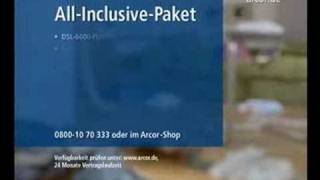 Arcor - Strippoker Fullhouse - Werbung