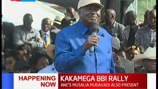 """Raila Odinga does not have to be president of Kenya ""Raila's Speech during #KAKAMEGA BBI RALLY"