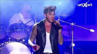 Crazy Little Thing Called Love HD Rock in Rio Queen Adam Lambert + Intro + jump