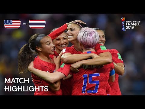 USA V Thailand - FIFA Women's World Cup France 2019™
