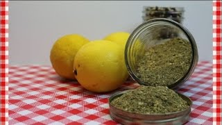 Salt Free Lemon Pepper & Herb Seasoning ~Salt Free Seasoning Recipe ~ Noreens Kitchen