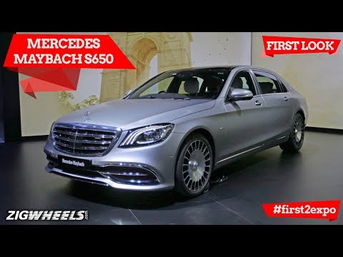 Mercedes-Maybach S650 | First Look | Auto Expo 2018 | ZigWheels.com