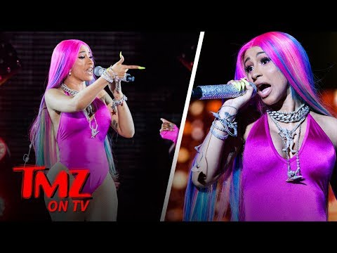 Cardi B Cancels Baltimore Concert, Blames Plastic Surgery | TMZ TV