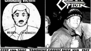 Choking Victim - Fuck America (Live @ Tompkins Sq Park Sept. 11 2005)