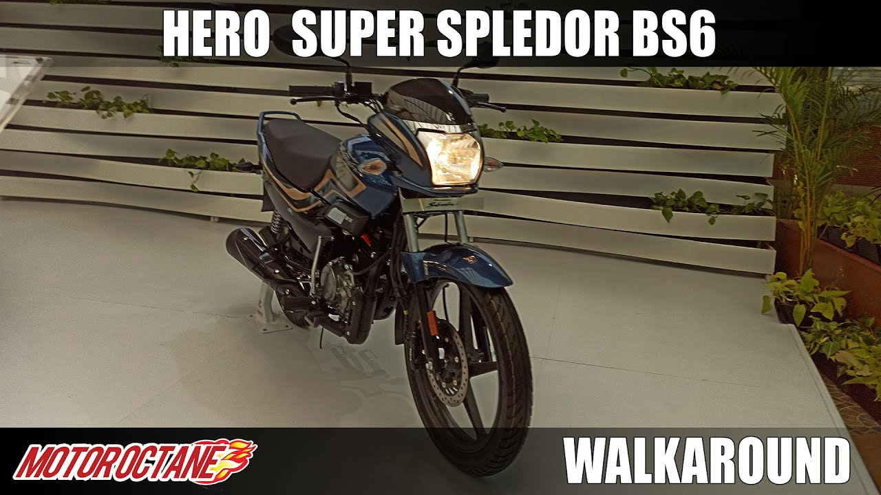Motoroctane Youtube Video - Hero Super Splendor 125 BS6 - TEASED NOT LAUNCHED | Hindi | MotorOctane