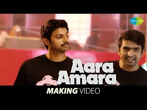 Nambiyaar | Aara Amara Song Making | Santhanam Singing | HD Tamil Songs