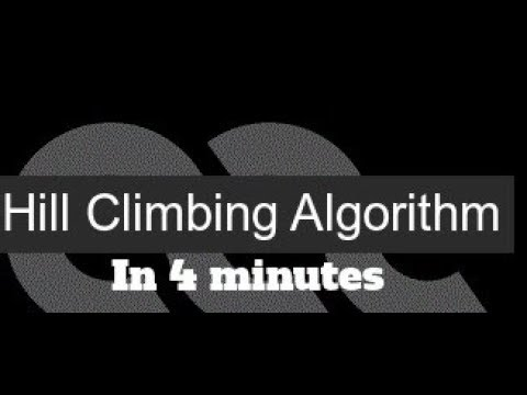 Artificial intelligence 19 Hill Climbing Search Algorithm in