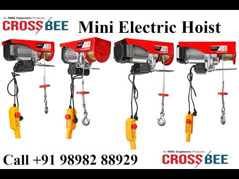 Portable Electric Hoists 1200 kg