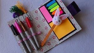 Tatil İçin Pratik Planner ve Tavşanlı Kitap Ayracı - DIY Planner and Rabbit Bookmark