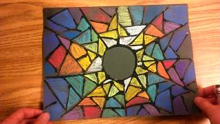Eclipse Stained Glass