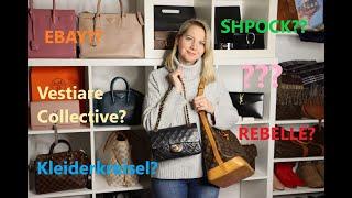 Second Hand Designertaschen- wo kaufen? Risiken & Tipps. Preloved bags Taschen Handtaschen gebraucht