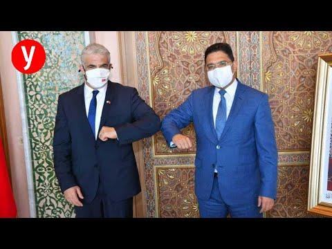 """לפיד: """"סיכמנו עם מרוקו על פתיחת שגרירויות, מייצרים ציר מול איראן"""""""