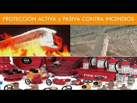 PROTECCION ACTIVA Y PASIVA CONTRA INCENDIOS RIPCI