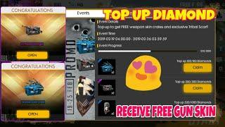 Download BUY 520+520 DIAMOND RECEIVE FREE GUN SKIN FREE FIRE