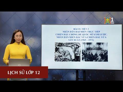 MÔN LỊCH SỬ - LỚP 12 | NHÂN DÂN 2 MIỀN TRỰC TIẾP CHỐNG ĐẾ QUỐC MỸ | 16H00 NGÀY 19.3.2020 (Dạy học trên truyền hình Hà Nội)