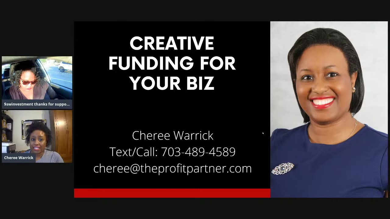 Required Creative Financing for your Organization? Cheree Warrick thumbnail