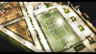 Flávio Mendes - FPV - Drone MAVIC AIR - Vôo a noite no bairro