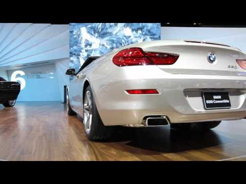 NAIAS Detroit 2011: 2012 BMW 650i Convertible Review