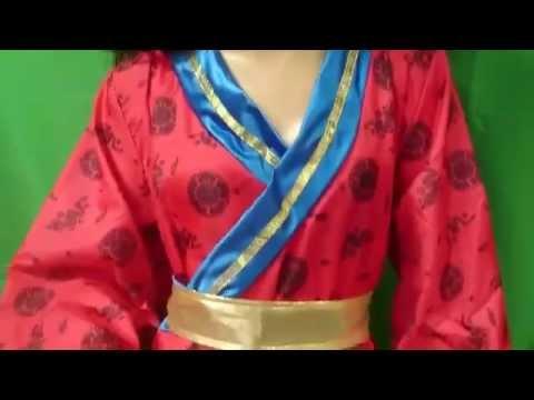 disfraz de china adulto XL