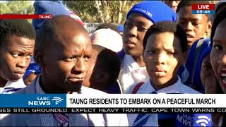 Taung residents to embark on a peaceful march