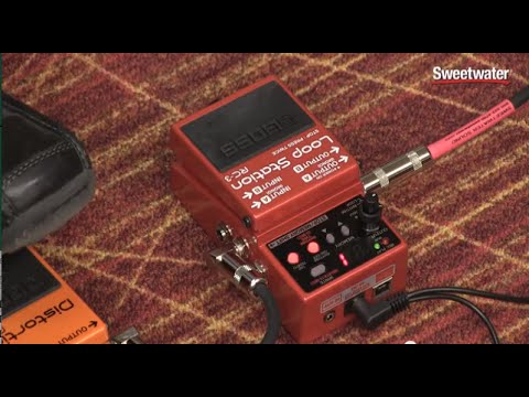 Boss RC-3 Loop Station Looper Pedal Review – Sweetwater Sound