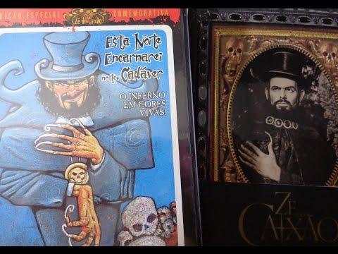 Dvds  e livro do Zé do Caixão