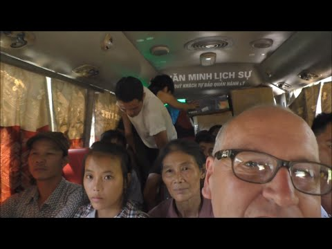 Bus from Bac Ha to Ha Giang Vietnam