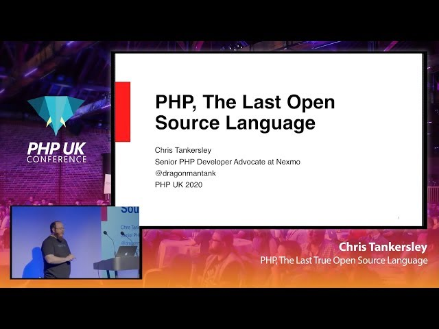 PHP, The Last True Open Source Language