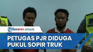 Viral Video Petugas PJR Tol Jakarta-Cikampek Diduga Pukul Sopir Ekspedisi, Keduanya Sepakat Berdamai