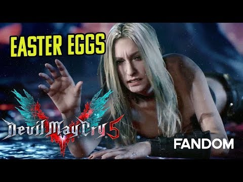 Devil May Cry 5 - Easter Eggs and References