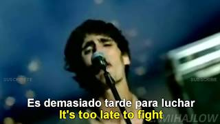 The All-American Rejects - It Ends Tonight [Lyrics English - Subtitulado Español]
