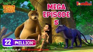The Jungle Book Cartoon Show Mega Episode 5 | Latest Cartoon Series for Children