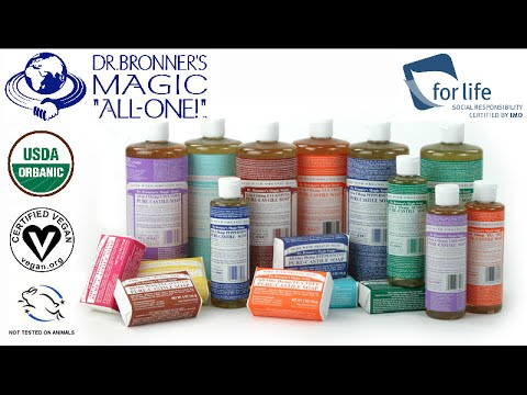 Organic Lip Balm Naked by dr bronners #8