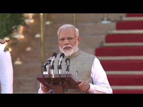 Narendra Modi takes oath as PM for second term