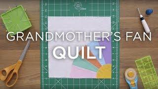 Quilt Snips Mini Tutorial - Grandmothers Fan Quilt