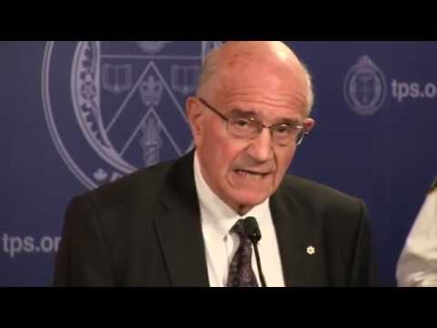 Hon. Frank Iacobucci addresses media on his report: Police Encounters With People In Crisis