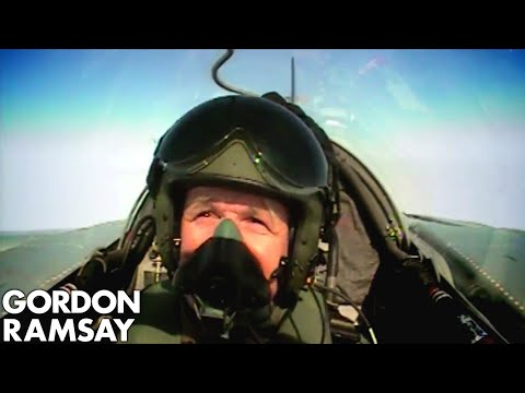 Cooking for RAF Pilots – Gordon Ramsay