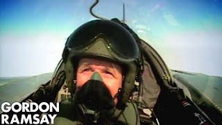Cooking for RAF Pilots – Gordon Ramsay