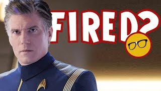 Star Trek Discovery is Doomed! Anson Mount is Out!