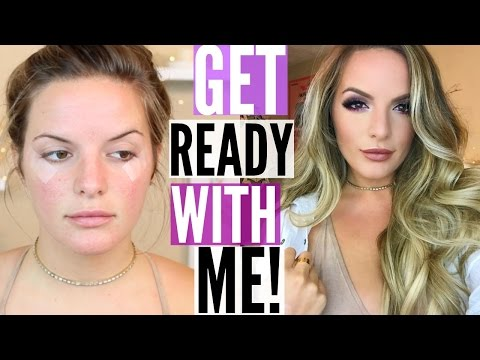 GET READY WITH ME! | Casey Holmes