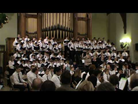 A Child is Born in Bethlehem - Choir, Christmas Festival 2016