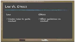 Engineering Ethics - Part 03: Ethical Theories and Hierarchy