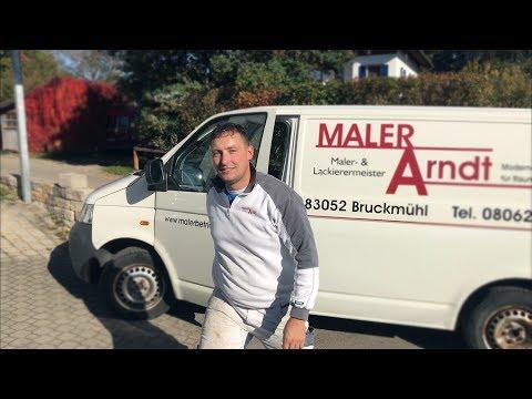 Maler und Lackiermeister Steffen Arndt in Bruckmüh
