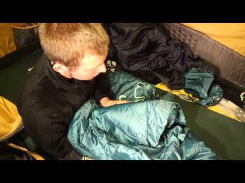 Теплый кемпинговый спальник «Туам». Видеообзор.