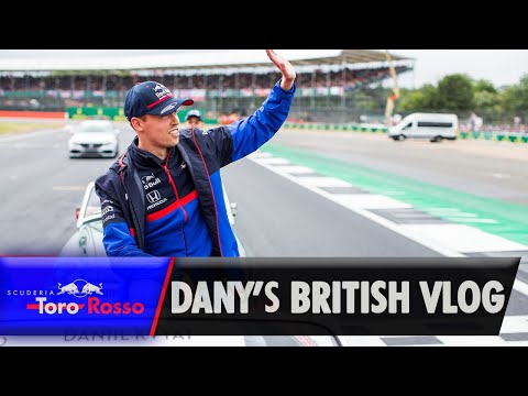 Image: WATCH: Daniil Kvyat's British GP VLOG