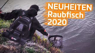 Das RAUBFISCH-SORTIMENT wächst | NEUHEITEN 2020