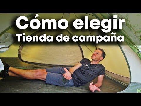 TIENDA DE CAMPAÑA - Cómo elegir la mejor para ti - MATERIAL de acampada y camping
