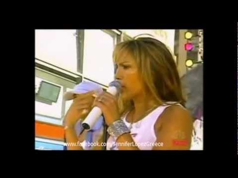 Jennifer Lopez - Love Don't Cost a Thing (Live at Today Show 2001)