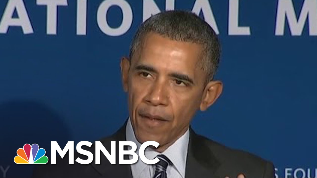 President Obama: 'We Will Close The Wage Gap' | MSNBC thumbnail