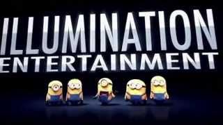MinionS (2015) : Universal Studio Intro Sound With Funny Minions Voice